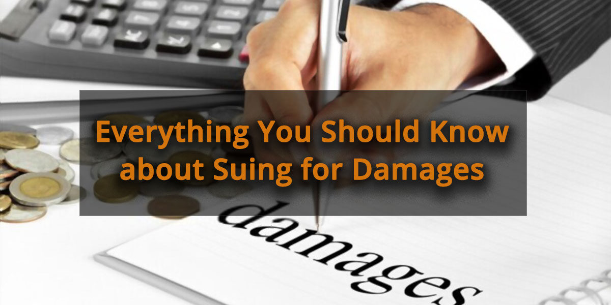 Everything You Should Know about Suing for Damages